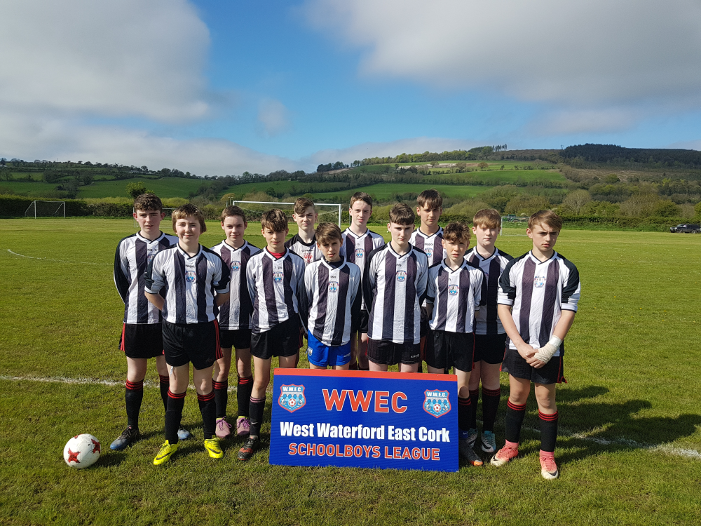 U15 Cup Runners Up Cappoquin FC